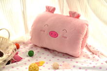 about 30x20cm hand warmer plush toy cartoon animal design muff ,Christmas gift w2703