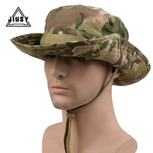 Multicam Tactical Airsoft Sniper Camouflage Bucket Boonie Hats Nepalese Cap Military Army American Military Accessories Men Fish