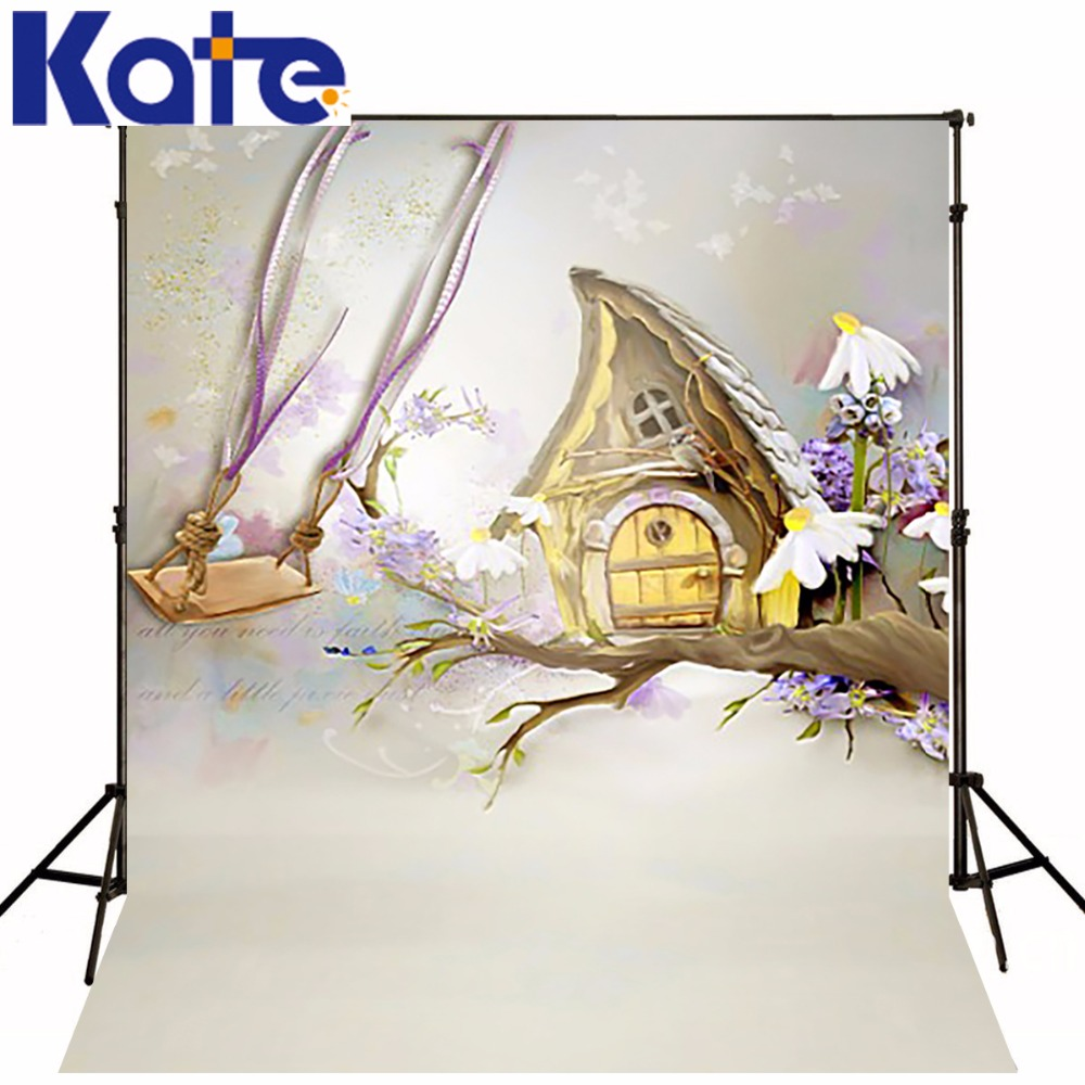 New Arrival Background Fundo Swing House Painting 300Cm*200Cm(About 10Ft*6.5Ft) Width Backgrounds Lk 2879<br>
