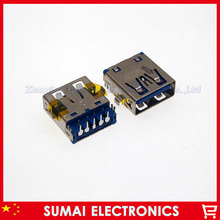 20pcs/lot 3.0 usb port jack for Lenovo Dell HP etc notebook motherboard 3.0 USB interface