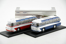 Fine Original 1:43 Russian LAZ 697E bus model Alloy Collection Model The number of rare Two colors are shipped in random order