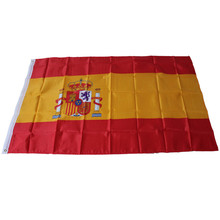 Spain Flag World Country National Day Polyester Ornament Outdoor Decorative Festival Home Yard Banner 90x150cm bandera espana(China)