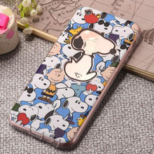 For Iphone7 7Plus Cute Cartoon Design Mobile Phone Case Full Sets of Silicone Back Cover Mobile Phone Bag With Dust Plug