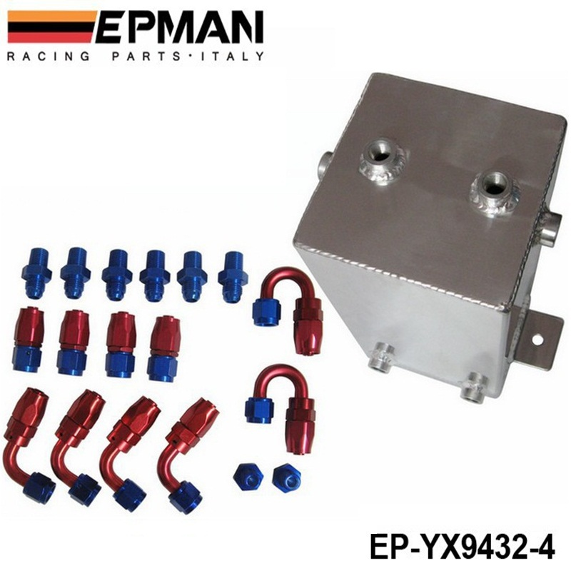 EPMAN -  4L ALLOY FUEL SWIRL SURGE TANK An6 -6 Polished EP-YX9432-4<br><br>Aliexpress