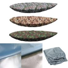 Durable Rain Dust Proof Sun Protection Kayak Canoe Boat Cover 3.6-3.9m for Marine Yatch Inflatable Fishing Boat Accessories