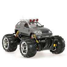ZHENCHENG 333-783B 1:16 27MHz 2CH Electric RTR Cross-country Off-road Buggy RC Car Toys with Colorful Lights Big Remote Car