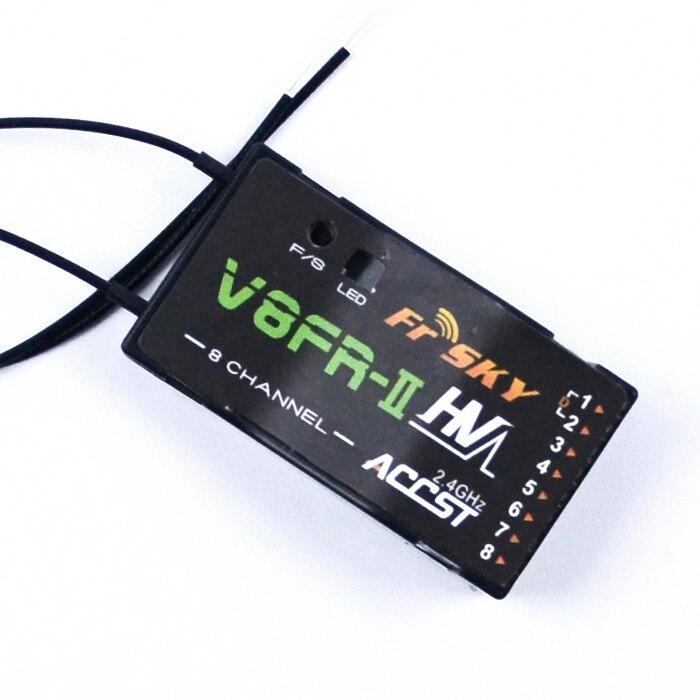 New FrSky V8FR-II HV 8 Channel 2.4Ghz High Voltage Receiver Fr Sky ACCST RX<br>