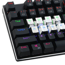 QWER ASDF Direction 12 Keyset Keycap Blue Pervious Light Backlit Key Cap with Key Puller