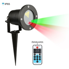 Laser Christmas Lights Outdoor Remote RG Garden laser Star Projector IP65 Waterproof Decoration Red Green Lamp for party Holiday
