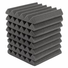 8Pcs 305 x 305 x 45mm Soundproofing Foam Acoustic Foam Sound Treatment Studio Room Absorption Wedge Tiles Polyurethane foam(China)