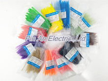 cable tie 100/Lot 3*100mm width 2.5mm Colorful Factory Standard Self-locking Plastic Nylon Cable Ties,Wire Zip Tie