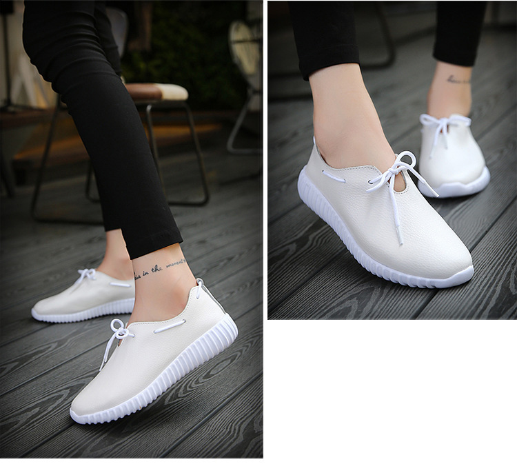 AH 2816 (12) Women's Leather Flats Shoes