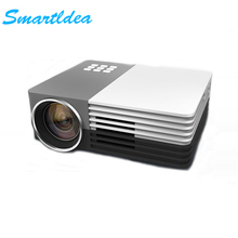 Smartldea Hot sales LED Mini Video LCD 1080P 3D Home Theater Projector Full HD Proyector Beamer Projector With HDMI USB VGA(China)