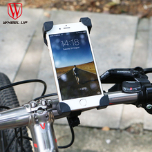 WHEEL UP Bicycle Bike Bag Phone Holder Handlebar Clip Stand Mount Bracket For Cellphone GPS iphone bags 2017 new