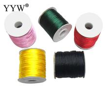 Nylon Cord personality with plastic spool reel bobbin wire spool mixed colors 1mm 10PCs/Lot Sold By Lot