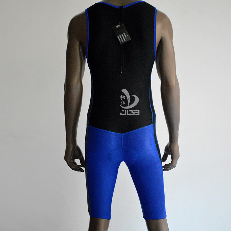 Sublimation Custom Triathlon Cycling one-piece suit/Tri suit/ Triathlon wetsuit running with pads for sports<br>