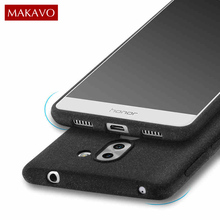 MAKAVO Cover For Huawei Honor 6X Case Matte Fundas For Huawei GR5 2017 Cases Mate 9 Lite Silicone Soft Phone Housing