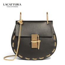 T0015 2017 Brands Feminina Shoulder chain pig bag Women handbags cowhide Ladies With Zipper women small min shell bag Sac A Main