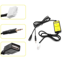 Car Kit CD Changer MP3 Player Audio Interface AUX SD USB Data Cable For Mazda CX7 MX5 Interior Car Electronics