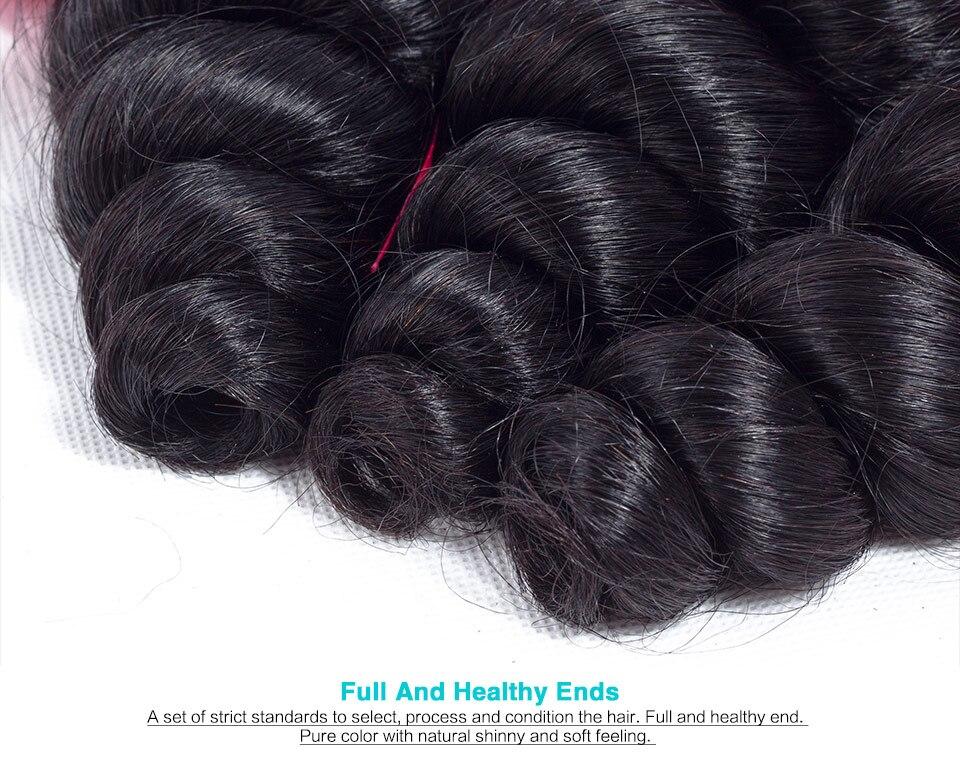 human hair loose wave