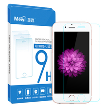 MEIYI Premium 0.3mm 9H Tempered Glass Luxury Explosion Proof Film Screen Protector Toughened Membrane for iphone6/6s plus