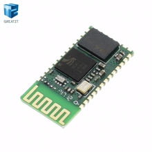 shipping! 1PCS HC06 HC-06 Wireless Serial 4 Pin RF Transceiver RS232 TTL Bluetooth Module Plug-in(China)