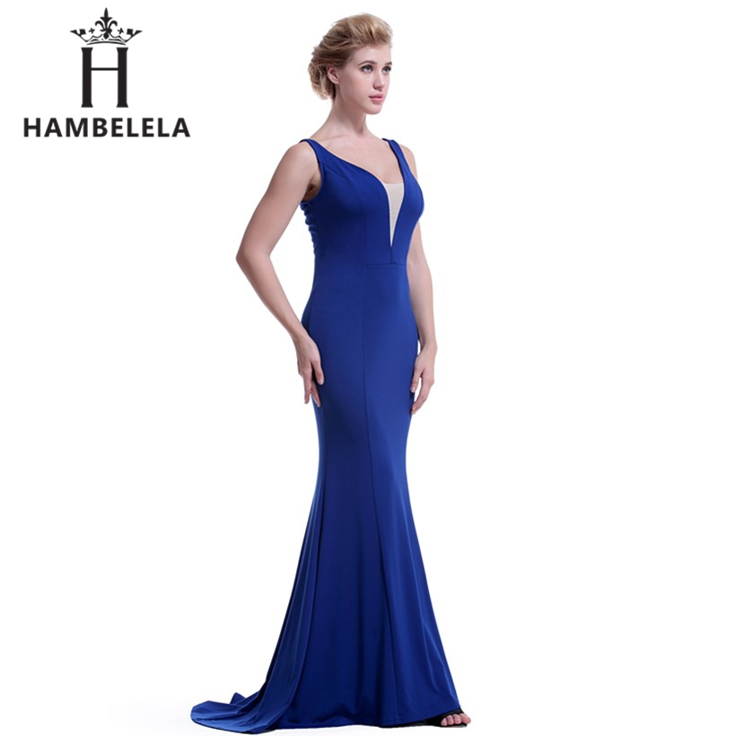 ... HAMBELELA Real Picture Backless Sequined Party Long Evening Dresses  2018 Vestido De Festa Longo Sexy Mermaid ... 8f35f7a34a52