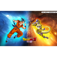 ( Dragon Ball Z Fukkatsu No F Playmat) Limited Edition 35X60CM Custom Playmat Cards Game Animation Playmat(China)