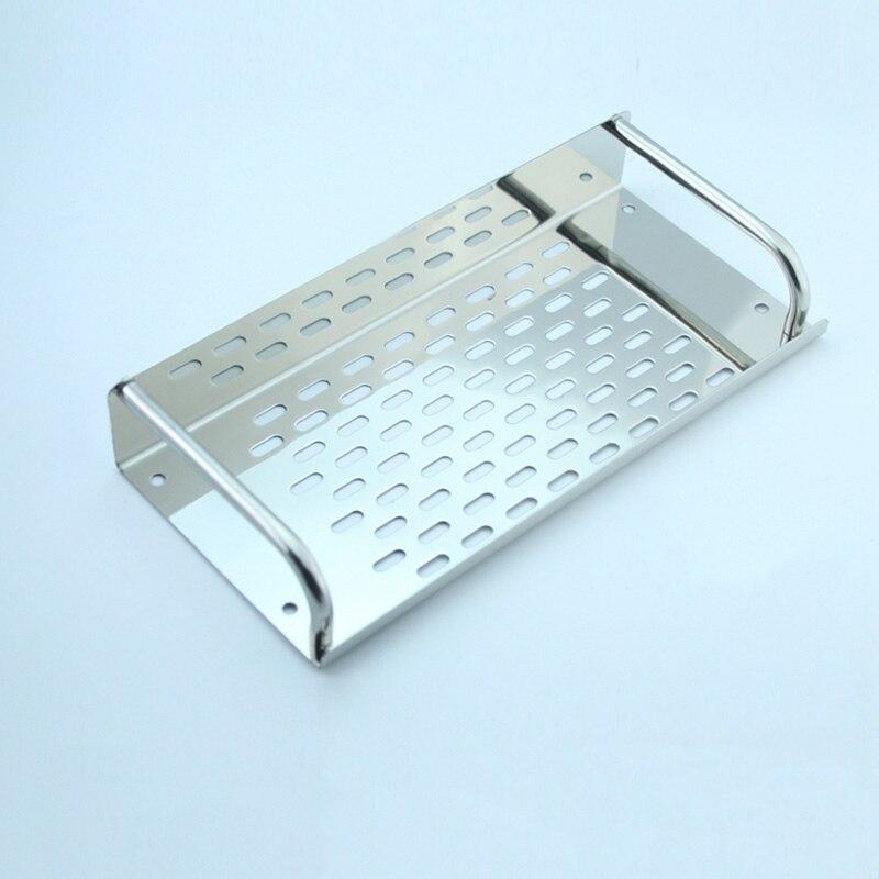 2016 Top Fashion Real Shelves for Bathroom Toothbrush Holder Stainless Steel Bathroom Shelf Wall Mounted Storage Rack,50cm KF175<br>
