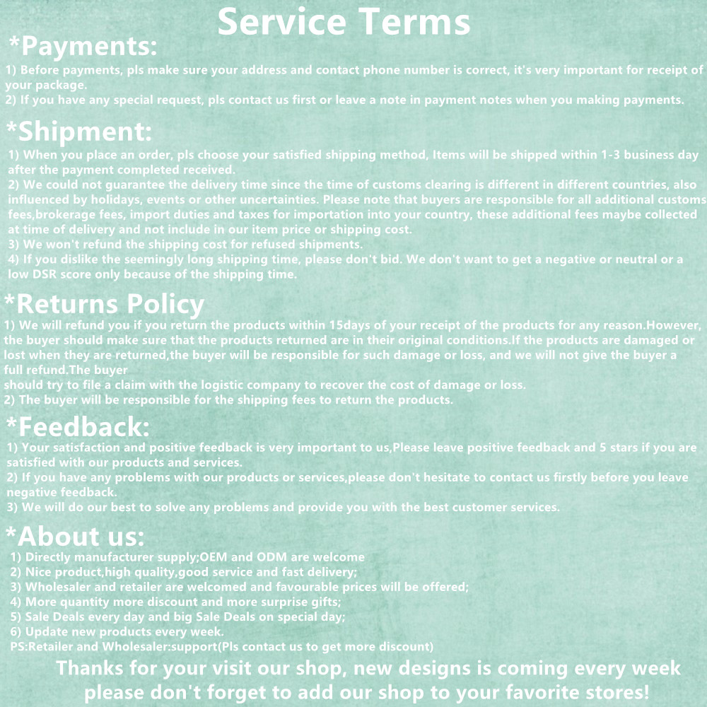 Service Terms