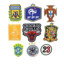 7.2*6.6CM 1pcs Badge Logo Diy Patches For Clothing Iron/Sew On Applique Icon Ptches For Sticker Clothes 9Colors