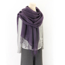 BOHOBOCO hot sale inner mongolia manufacturer wholesale 50% silk 50% cashmere autumn winter fashion lady scarf