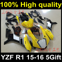 Complete Plastic Body Fairing Kit Set For YAMAHA YZF R1 2015 2016 15 16 Fairing Y15-1177