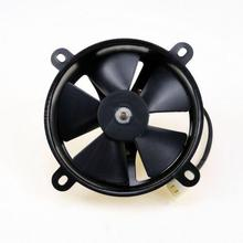 Motorcycle 12v Electric Cooling Fan Water Cooled Bike Scooter Oil Cooler XQ(China)