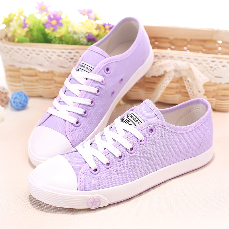7 Colors new 2017 fashion Spring Summer women Casual shoes Candy color women flat shoes breathable canvas shoes<br><br>Aliexpress