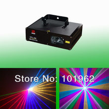 Full Color 1W RGB Laser Projector Stage Light DJ Dance Party Lighting(China)