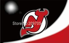 NHL New Jersey Devils Flag 3x5 FT 150X90CM Banner 100D Polyester flag 1117, free shipping