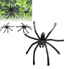 30Pcs Soft Plastic Prank Toy Replica Prop Party Decor Realistic Fake Spiders