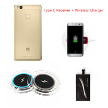 Wireless Charger For Huawei P10 P9 Plus Charging Adapter Accessory Type C USB C Qi Wireless Receiver For Huawei P9 P10Plus Case