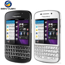 "Original Blackberry Q10 Cell Phone Mobile phone 3.1"" Dual Core 8MP 2GBRAM 16GB ROM 3G &4G GPS WIFI QWERTY cellphone(China)"
