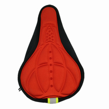 Soft 3d Padded Cycling Bicycle MTB Bike saddle Seat Cover Cushion Sponge Foam Comfortable saddles Mat Cushion Bicycle Accessory