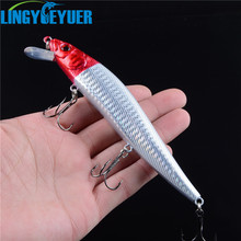 23g 14cm 1pcs hard bait winter fishing lure minnow ice sea fishing tackle fishing kit jig wobbler lure jerk bait(China)