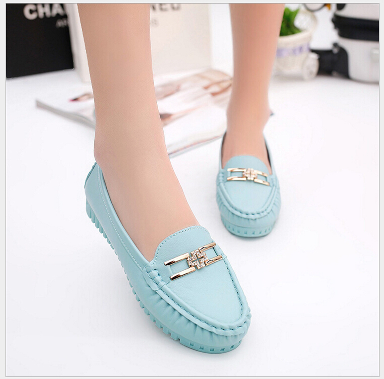 2017 Autumn doug shoes womens shoes flat leisure nurse only soft non-slip bottom spring pregnant women shoes size 35-40<br><br>Aliexpress
