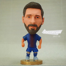 "Soccer Player Star 10# MES** (B-2018) 2.5"" Action Dolls Figurine FreeShipping(China)"