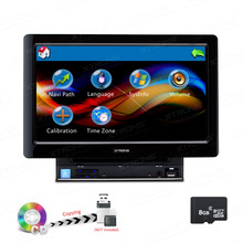 "10.1"" Capacitive Touch Screen Double Din Car DVD player 2 Din Car Radio Two Din Car GPS with 1024*600 Resolution"