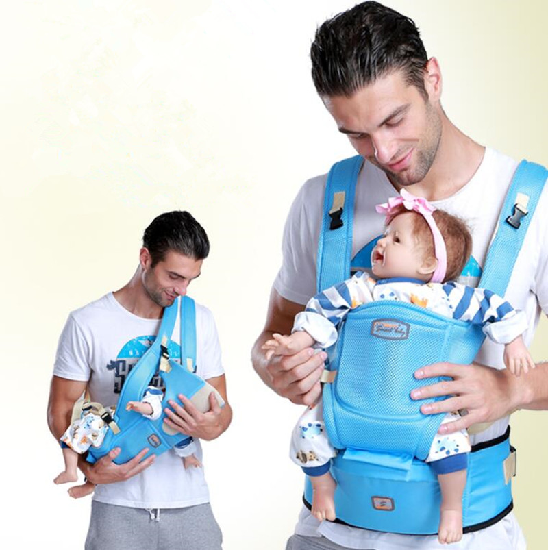 Summer Ergonomic Baby Carrier sling Breathable baby kangaroo hipseat backpacks carriers Multifunction removeable sling backpack<br>