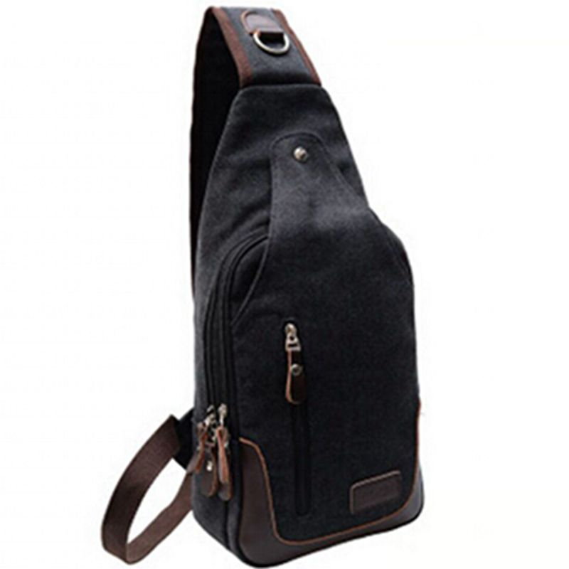 New fashion Mens Small Canvas Military Messenger Shoulder Travel  Backpack Fanny Bag Student School Bags Crossbody Bag B0708<br><br>Aliexpress