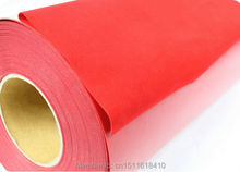 CDF-03 red color of Korea Heat Transfer Vinyl Transfer Film/Flock transfer film original Korea flock(China)