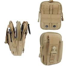 New Arrival Tactical Molle Pouch Belt Waist Pack Bag Small Pocket Military Waist Fanny Pack Phone Pocket Hip Waist Belt Bag(China)