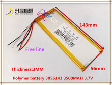 best battery brand rechargeable batteries 3.7V 3500mah polymer lithium Li-ion battery for tablet pc 7 inch MP3 MP4 3056143